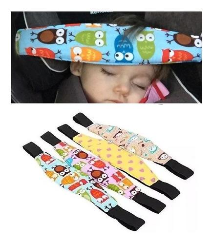 Imagen 1 de 3 de Cinturon Seguridad Protector Cabeza De Bebe X2