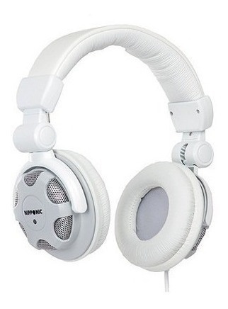 Headphone Dj - Nip-cd830 - Nipponic - Apenas Na Cor Rosa
