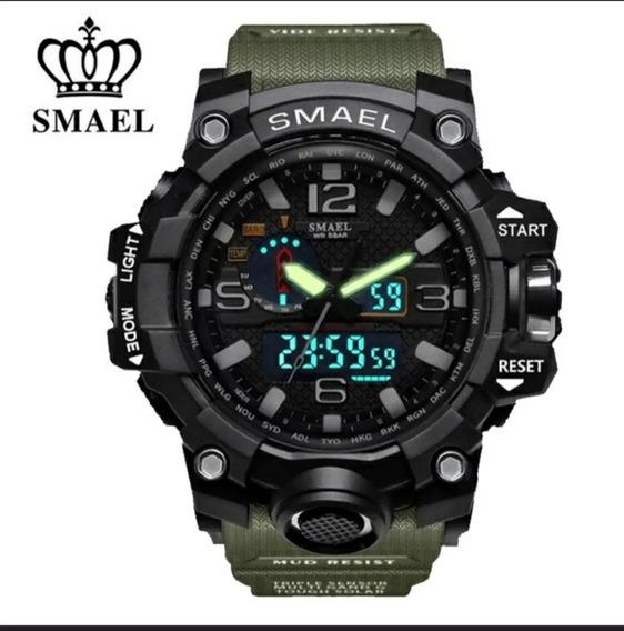 Relógio Smael Esportivo Militar Original . Várias Cores.