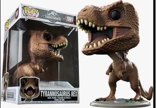 Funko Pop! Movies #591 Jurassic World Tyrannosaurus Rex 10