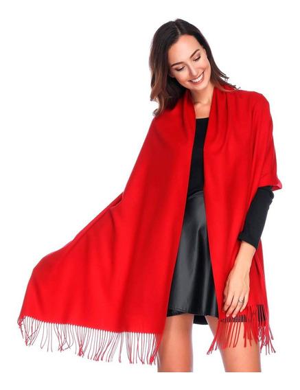 Ruanas Grandes Lisas (1,90 X 0,70) Pashminas Chalinas Bufandas Largas Pareos Moda Fashion Precio Mayorista 24 Colores!