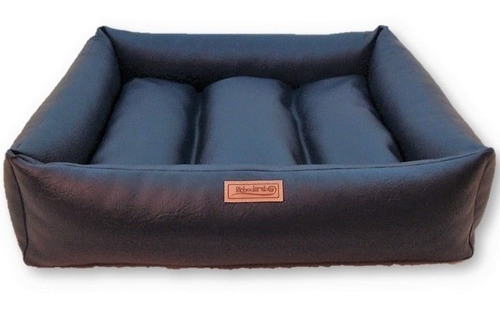 Imagem 1 de 8 de Caminha Cachorro Impermeável Confort Couro Brescia M 70x70cm