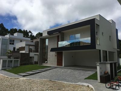 Ampla Casa Em Condomínio Fechado Com 06 Vagas Privativas - 847_2