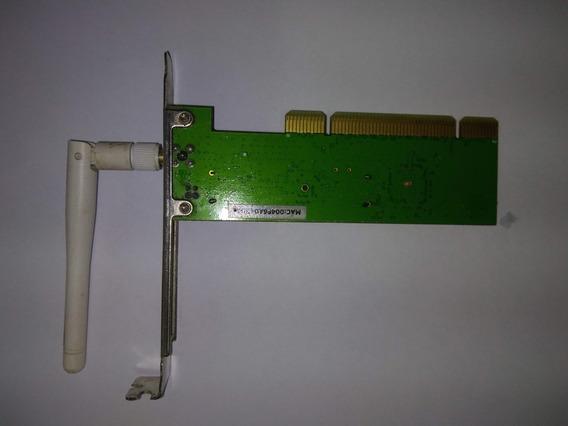 Placa Rede - Wireless Edimax Ieee 802.11g Ew-7128g C/ Antena