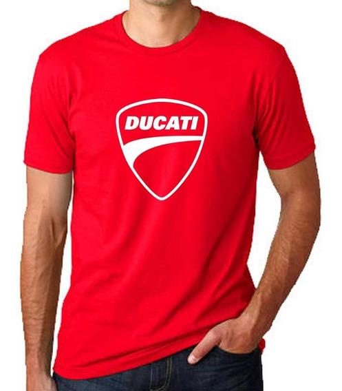 Remera Ducati 100% Algodón Calidad Premium