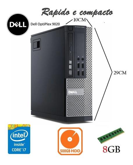 Computador Dell 9020 I7 4° Geração 8gb Hd 500gb Seminovos
