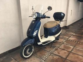 Moto Zanella Styler 150 Exclusive Z3 Vintage Con Baúl