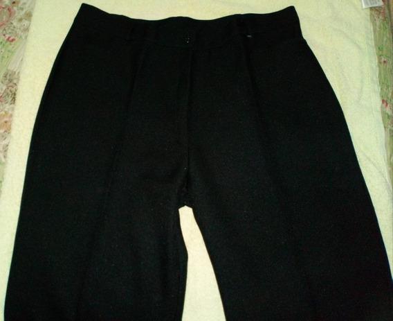 Pantalon Negro Talle 42
