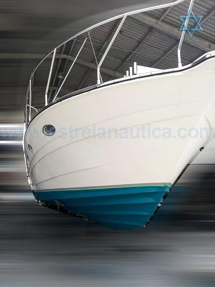 Lancha Carbrasmar 41 Barco Iate N Phantom Cimitarra Ferretti