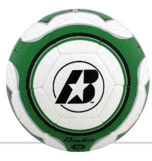 Balón Fútbol Campo Número 4 Profesional Baden Verde Kt 20