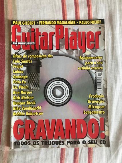 Revista Guitar Player N°34 Gravando! - Novembro De 1998