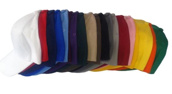 Gorras Acrílicas Para Bordar Unicolor