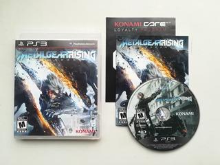 Metal Gear Solid Rising Ps3 - Rka