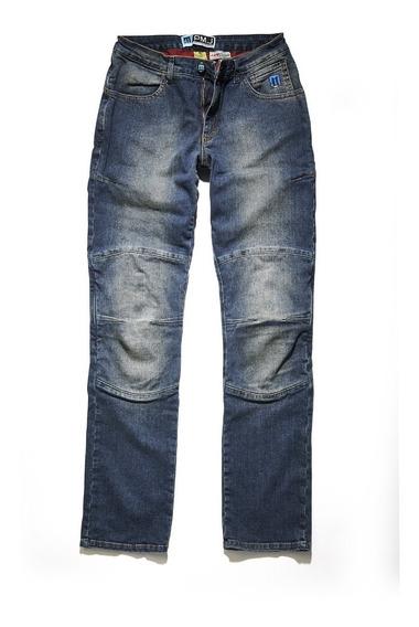Jeans Italianos Para Motorista Pmj Mod Carolina Unisex