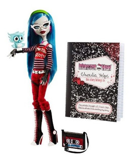 Monster High Ghoulia Yelps Doll Con Mascota Owl Sir Hoots Mu