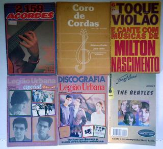 Lote 24 Revistas Musicas - Maioria Para Violão E Guitarra