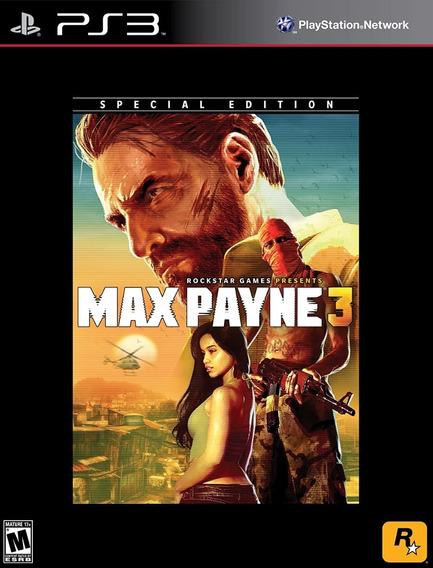 Max Payne 3 Ps3 Jogo Em Portugues Playstation 3 Original