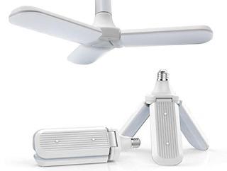 Foco Led 36w Tipo Ventilador Apertura Ajustable Luz Blanca