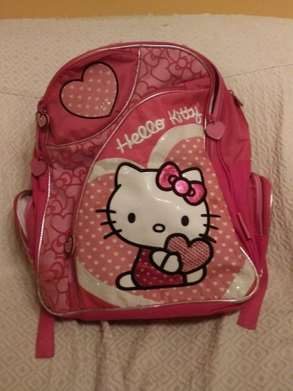 Mochila Infantil Marca Footy / Hello Kitty