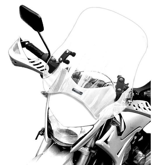 Bolha Universal Motos Em Policarbonato 4mm Cristal