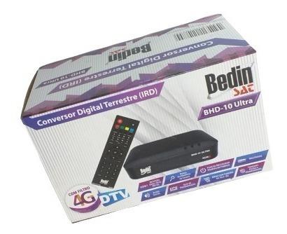 Conversor Digital Bedinsat Bhd-10 Ultra | Original Na Caixa