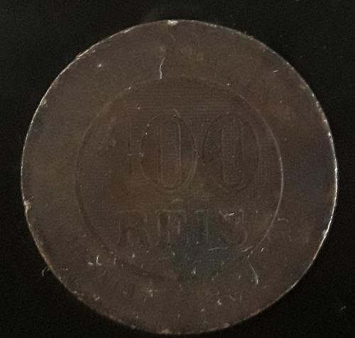 Imagem 1 de 2 de Moeda 100 Réis Ano 1895