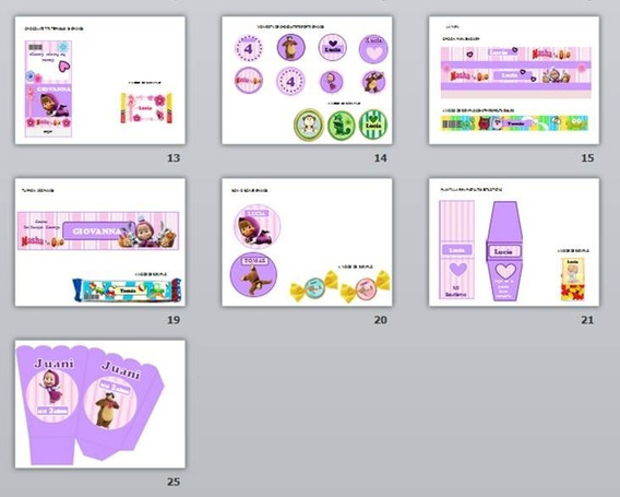 Kit Editable Para Cumpleaños