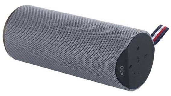 Caixa Som Bluetooth Oex Speaker Spool Sk410 - Cinza