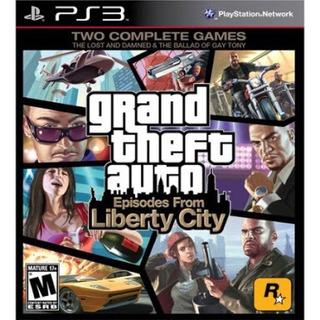 Grand Theft Auto Liberty City Ps3 Videojuego
