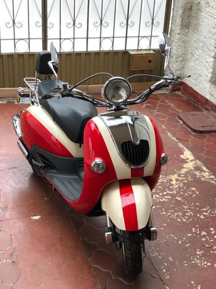 Moto Lintex Tipo Vespa Sin Kilometraje