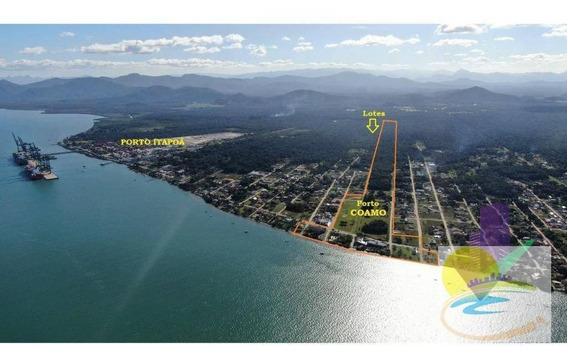 Terrenos Parcelados À Venda, 288 M² Por R$ 499 - Bahamas I - Itapoá/sc - Te0657