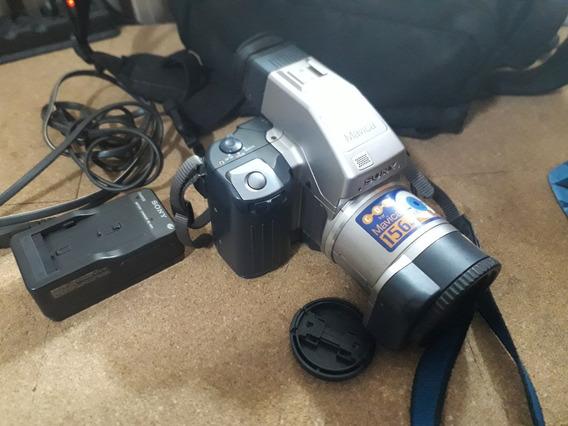 Câmera Sony Mavica Mvc Cd1000 - Perfeita, Veja Fotos !