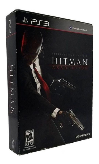 Hitman Absolution Professional Edition Ps3 Mídia Física