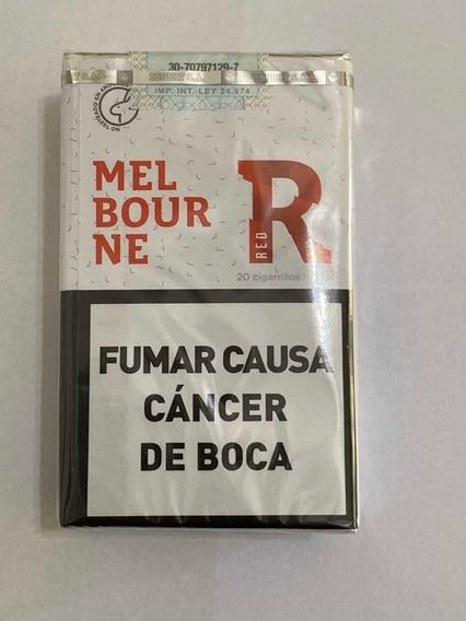 Cigarrillos Melbourne Rojos Pack X 10