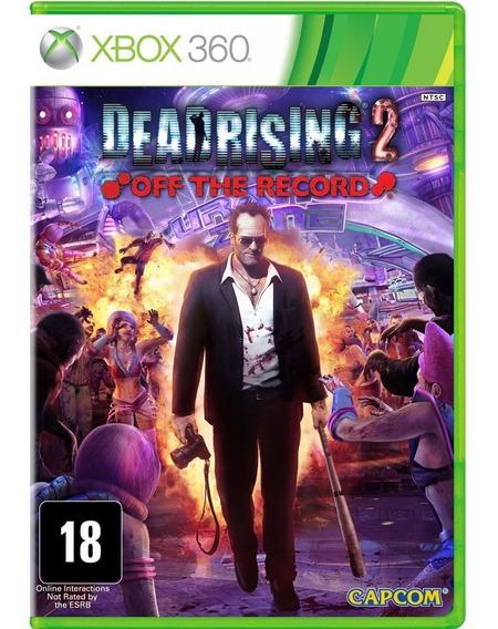 Game Xbox 360 Dead Rising 2 Off The Record - Original - Novo