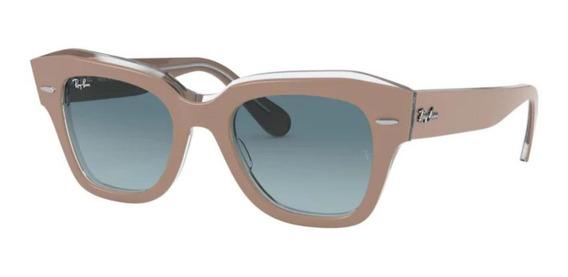 Óculos De Sol Ray Ban State Street Rb2186 12973m-49
