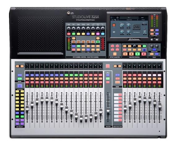 Mesa De Som Digital Presonus Studiolive 32sx Lacrado! Nf