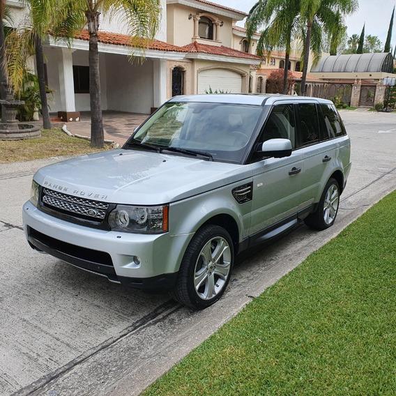 Como Nueva Range Rover Hse Sport Super Cargada 2011 Plateada