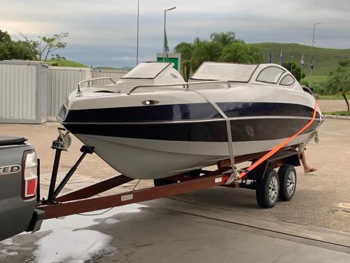 Lancha Line-boats 20 Pes Motor Yahmaha 90hp 2t 260 Horas