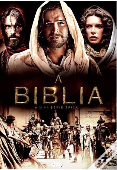 A Bíblia Série Épica Completa Dublado E Legendado 4 Dvds !!