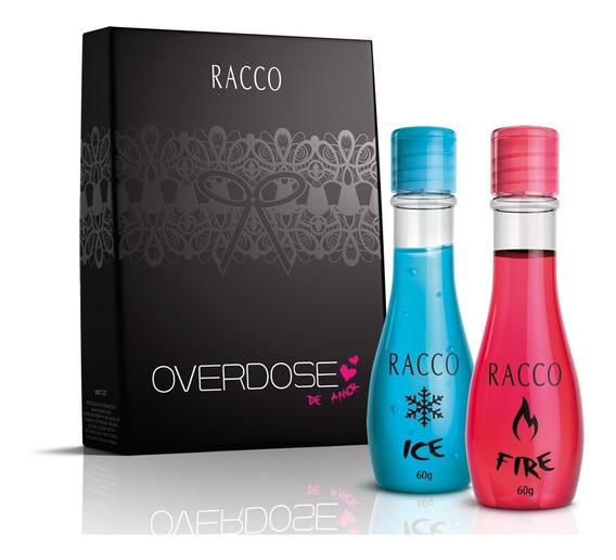 Racco Kit Overdose De Amor Gel Massagem Ice E Fire 60g Promo