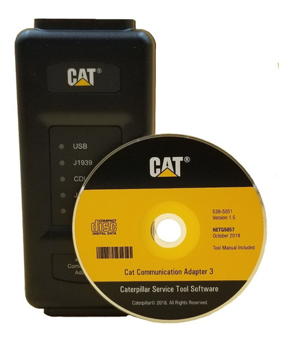 Com Adapter 3 Caterpillar Original