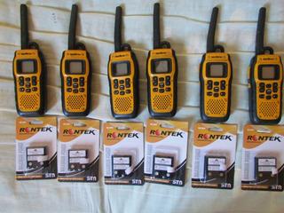 Intelbras Waterproof.lote Com 6 Rádios Completos.