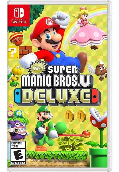 New Super Mario Bros U Deluxe Novo - Switch