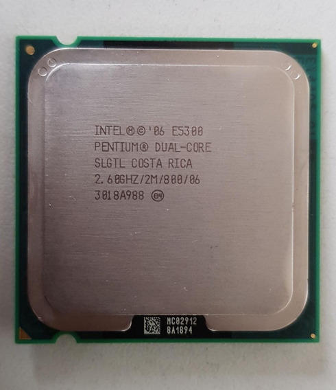 Processador Intel Dual Core E5300 2,60ghz Usada Ref: 01545