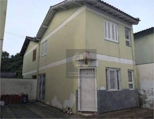 Sobrado Com 2 Dormitórios À Venda, 56 M² Por R$ 145.000,00 - Jardim Itapema - Viamão/rs - So0103