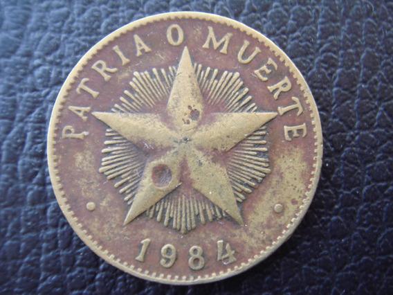 Cuba - Moneda De 1 Peso, Año 1984 - Bueno