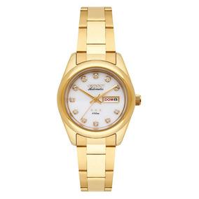Relogio Feminino Orient Automatico Dourado 559gp010-b1kx