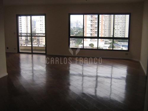 Ótima Oportunidade, Campo Belo 4 Dormitórios Com 270 M2 4 Vagas De Garagens  - Cf12040