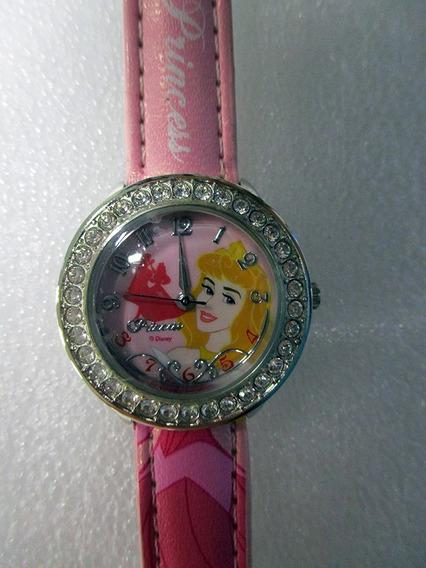 Reloj Princesas Disney Aurora Bella Durmiente Niña